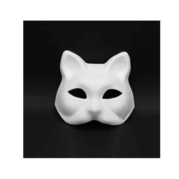 Kagit Maske Hayvan Modeli
