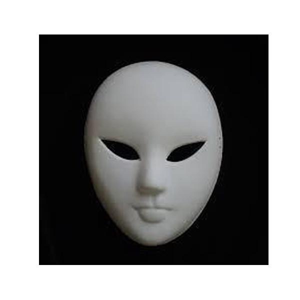 Kagit Maske Insan Modeli By