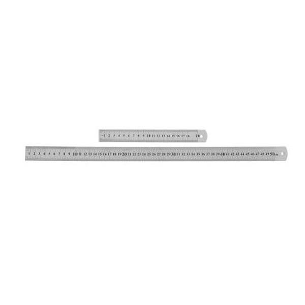 Çelik Cetvelller 50 cm