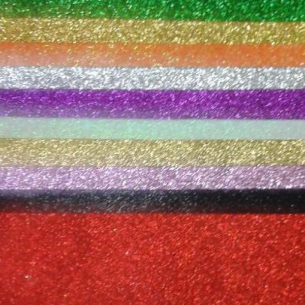Eva Karışık Renk Simli 20x30 10lu Pk