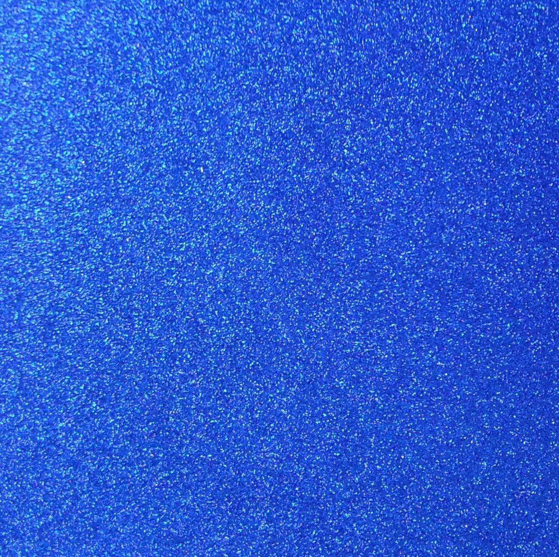 Eva Tek Renk Simli 50X70 -MAVİ