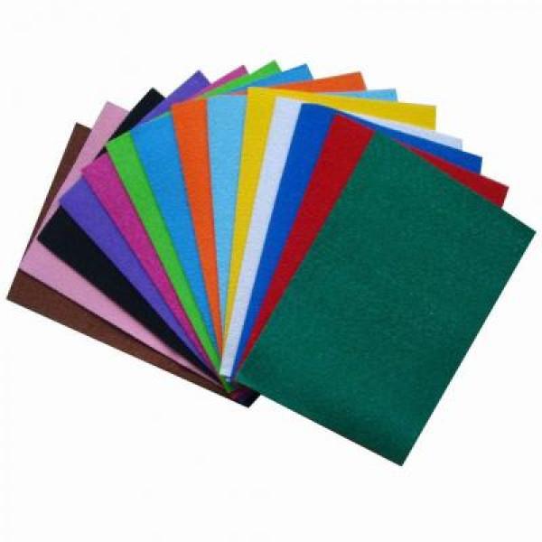 Keçe Karışık Renkli 20x30 10lu Paket