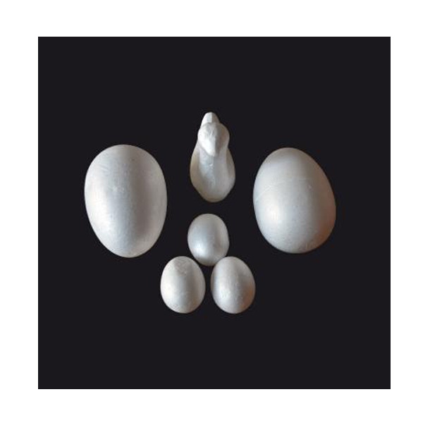 Köpük Yumurta 10cm - 8'li