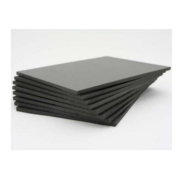 Siyah Fotoblok 5mm - 50x70