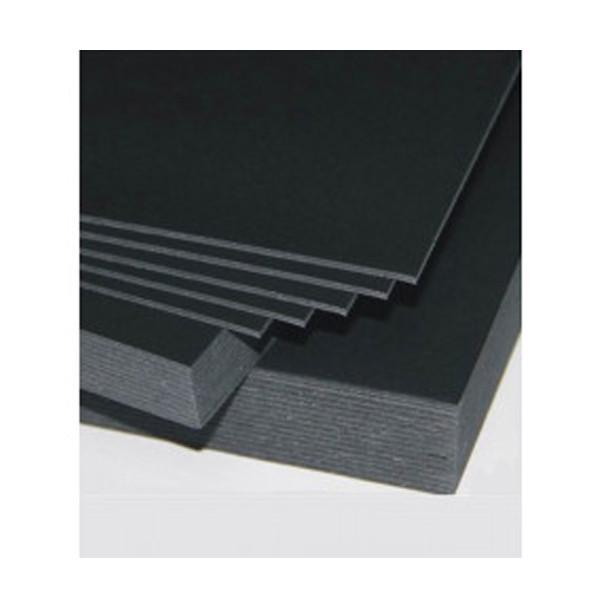 Siyah Maket Kartonu 1mm  - 70x100cm